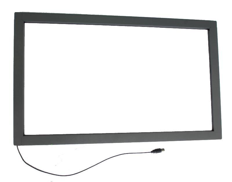 9PCS 32 inch infrarot multi touch screen overlay kit mit usb port, IR touch rahmen ohne glas für 4 touch punkte