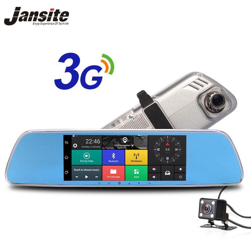 Jansite 3G Автомобильный видеорегистратор Android 5.0 Камера 7