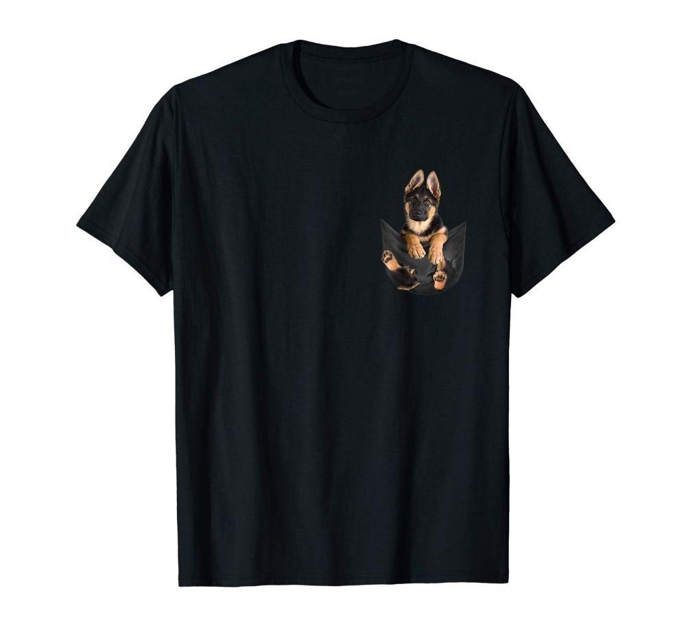 Berger allemand dans votre poche mignon chien amoureux hommes Homme 2019 pour grands et grands hommes Offensive t-shirts