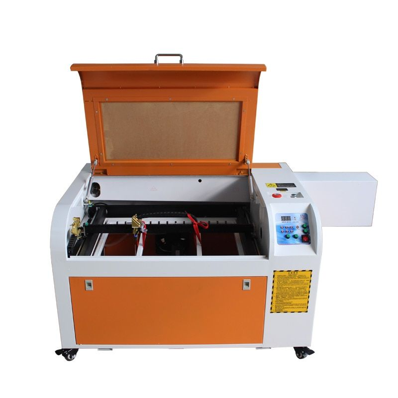 60W high speed CO2 laser engraving machine 60*40cm with Digital Function