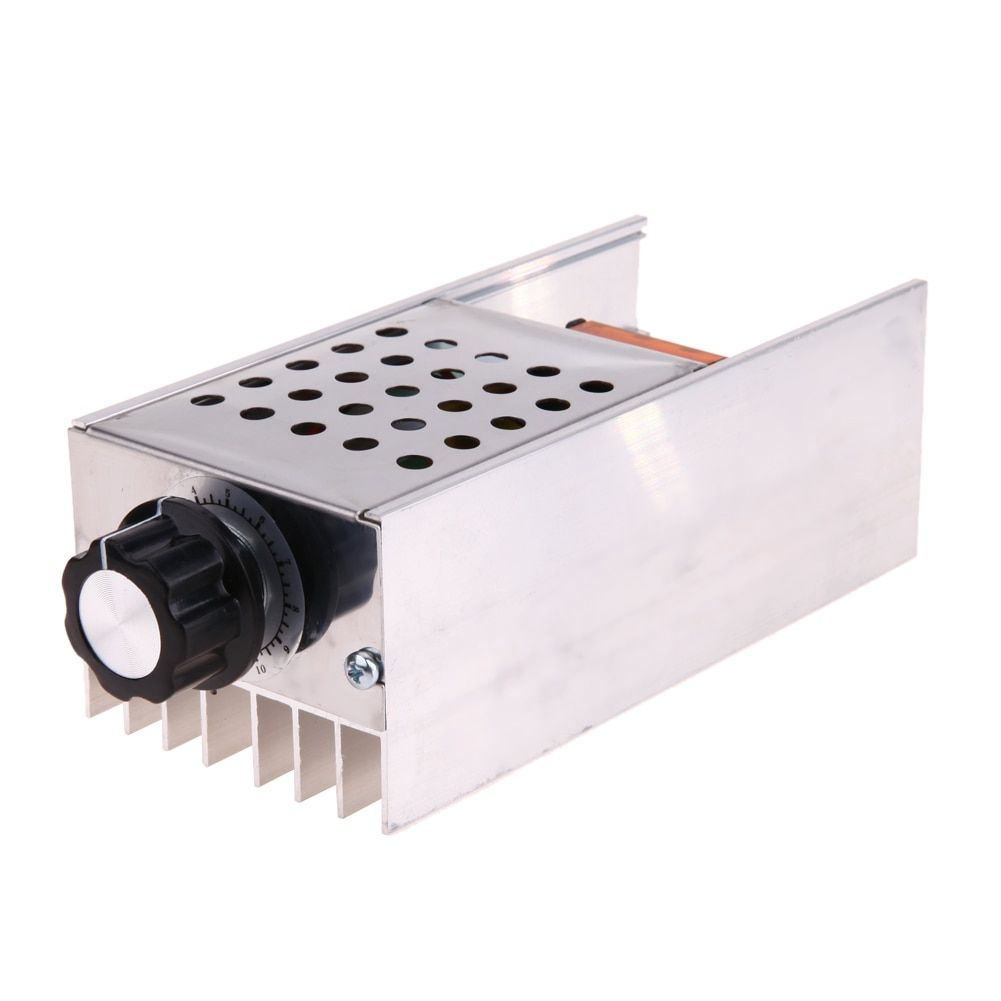 Electrical Voltage Regulator AC220V 6KW SCR Motor Speed Controller Dimmer Thermostat Electrical Accessories