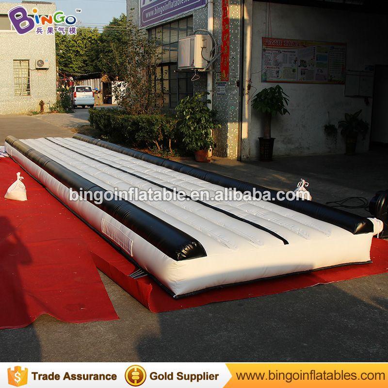 Kostenloser Versand 9 m PVC material Aufblasbare luft gymnastik matte kommerziellen multi gym fitness ausrüstung für Spielzeug sport