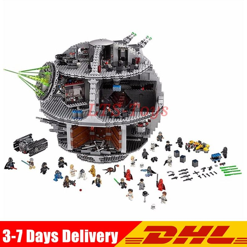 2018 Lepin 05063 4016pcs New Force Waken UCS Death Star Educational Building Blocks Bricks Toys Boy Toys LegoINGLY 75159