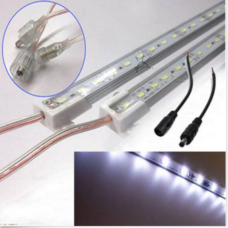Bande de lumière LED de réservoir de poisson de cabine de Yacht marin de bateau de plafond en aluminium blanc froid de 2x20 pouces imperméable à l'eau