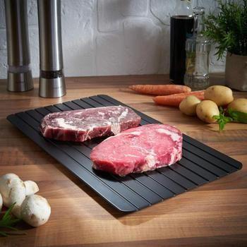 Размораживания лоток Горячая быстрое размораживание лоток Кухня безопасный способ размораживать мясо или разморозить мясо или замороженн...