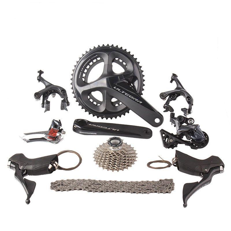 Shimano Ultegra R8000 Rennrad Groupset 2x11 22 s Geschwindigkeit 50/34 53/39 170mm 172,5mm Straße Fahrrad groupset Schaltwerk Kit