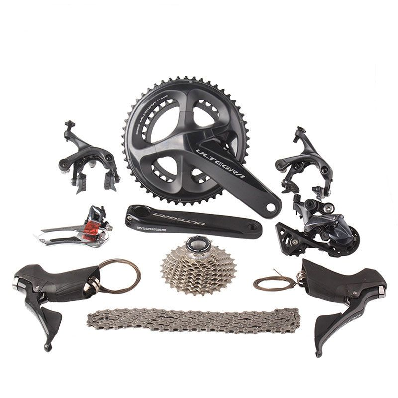 Shimano Ultegra R8000 Road Bike Groupset 2x11 22S Speed 50/34 53/39 170mm 172.5mm Road Bicycle Groupset Derailleur Kit