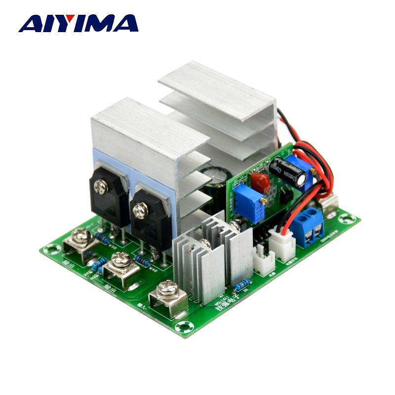 AIYIMA 1Pc Inverter 12v To 220V Sine Wave Inverter Driver Board 500W With Voltage Regulator