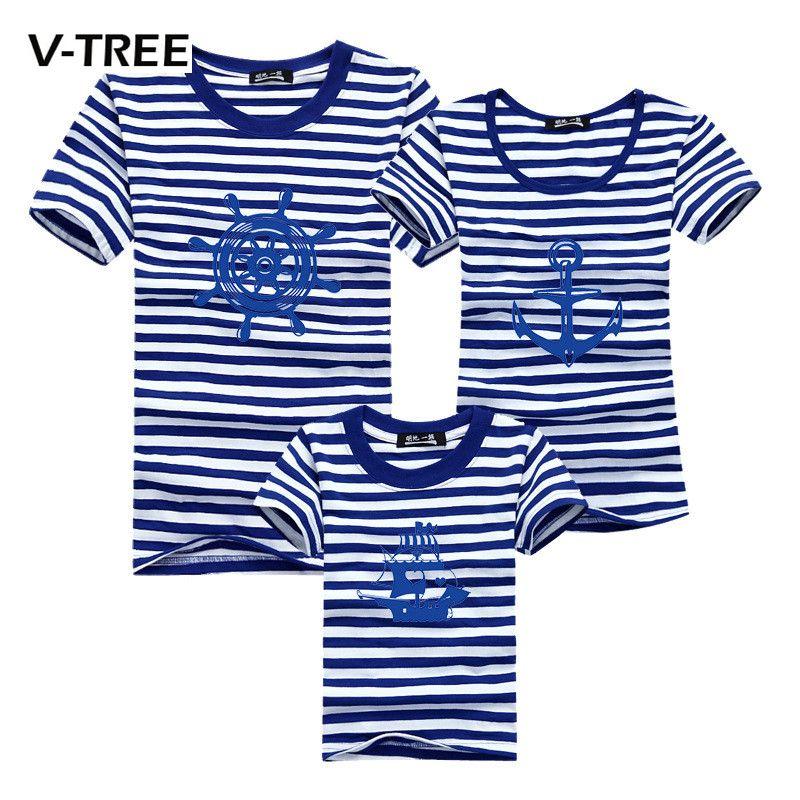 2016 printemps mère et enfants vêtements nouvelle famille correspondant tenues coton t-shirt pour mère et fille vêtements d'été famille look