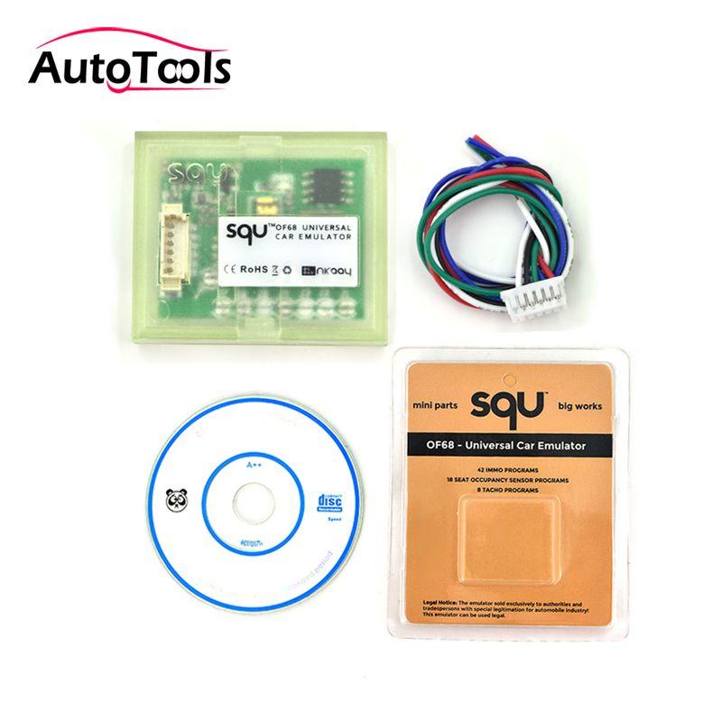 Hohe qualität SQU VON 68 Universal auto emulator unterstützung für IMMO/Sitz accupancy sensor/Tacho Programme squ of68