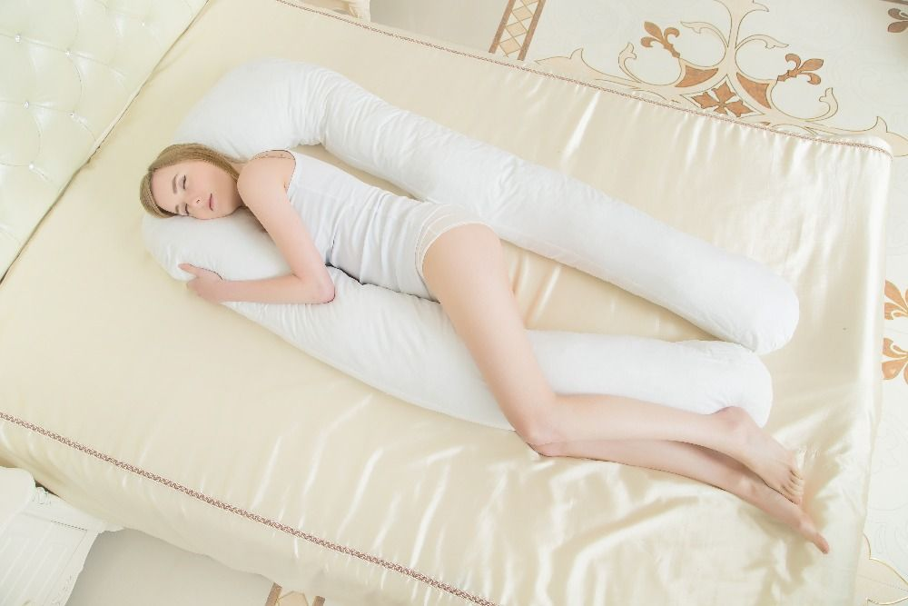 pregnancy Comfortable big U type pillows Body pillow For Pregnant Women Best For Side Sleepers Removable 6color 152*72*22cm