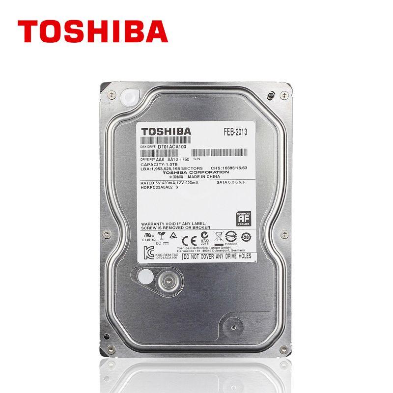 TOSHIBA 1 TB Festplatte 1000 GB 1 T Internal HD HDD 7200 RPM 32 Mt 3,5