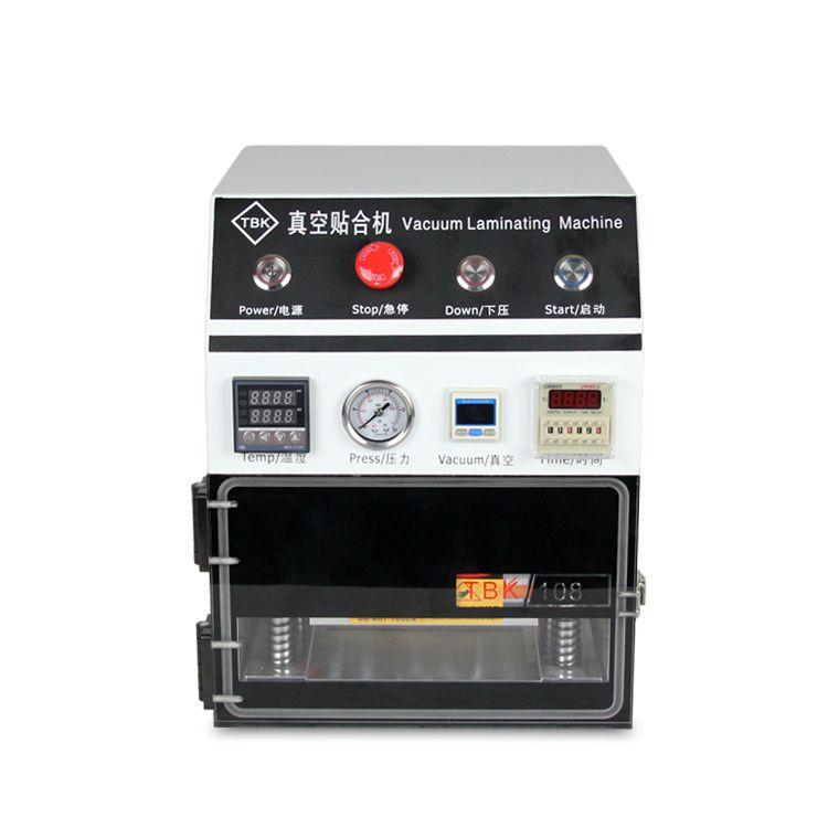 TBK OCA Laminierung Maschine, 7 zoll Vakuum Laminiermaschine für Mobile LCD sanierung