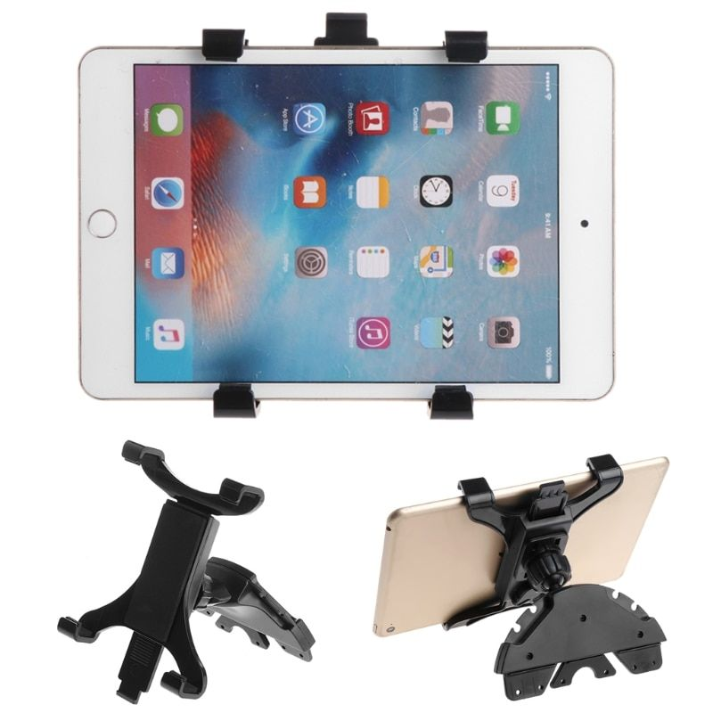 Car Tablet Holder CD Slot Mount Holder Stand For ipad 7 to 11inch Tablet PC Samsung Galaxy Tablet