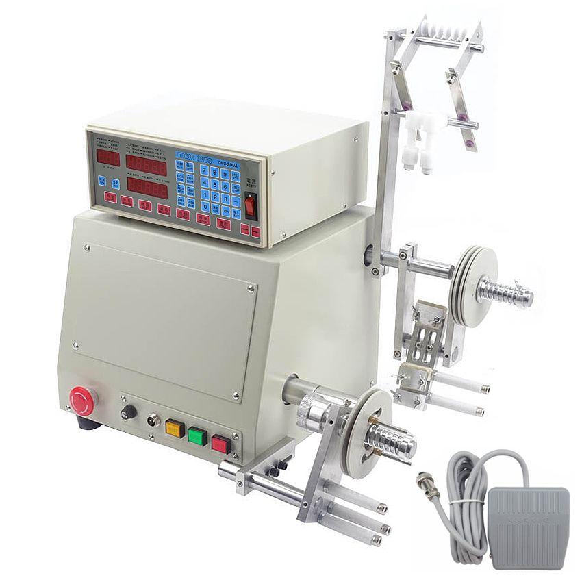 Automatische CNC Spule Wickel Maschine für 0,03-1,2mm Draht wickel Maschine Einzigen welle 400 W Bürstenlosen Motor 220 v/110 V 6000 r/min