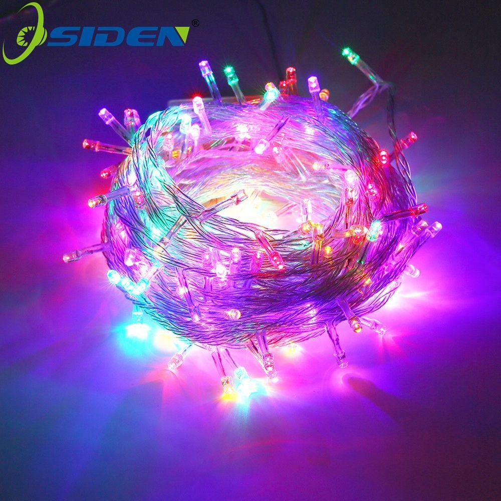 OSIDEN 33FT 10 M 100led Luz LED de Navidad Árbol de Navidad Fiesta de navidad Led Cadena de Luz Decoración De La Boda Luces de Hadas del Led guirnalda