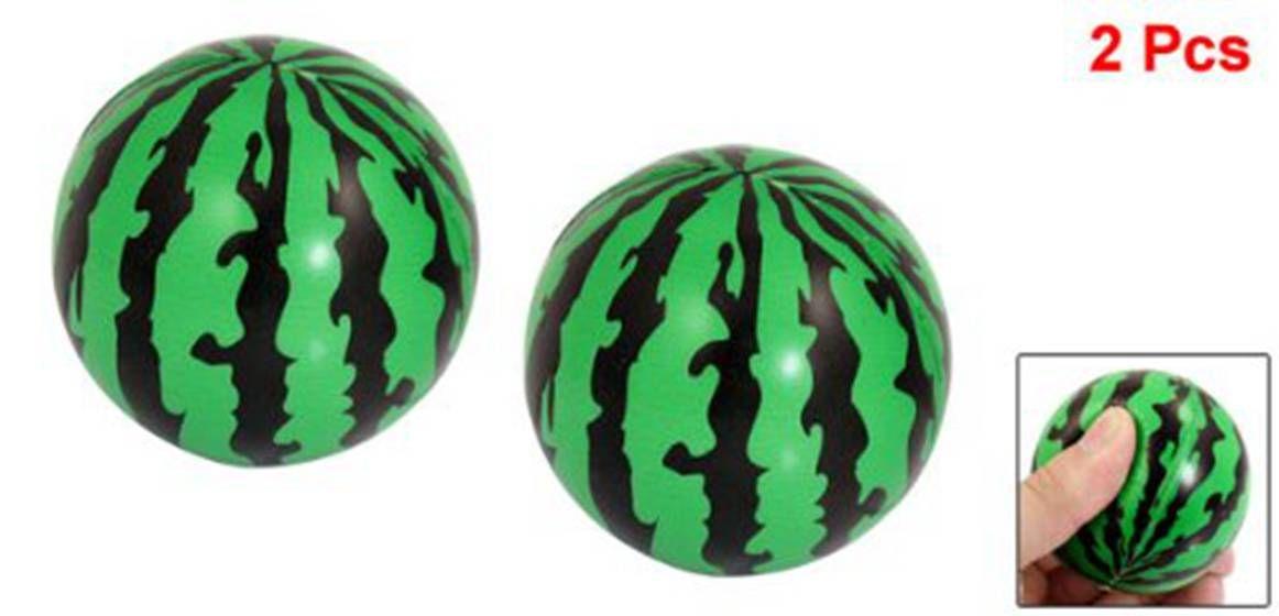 SODIAL(R) Child Foam Squeeze Stress Sponge Green Black 2.3