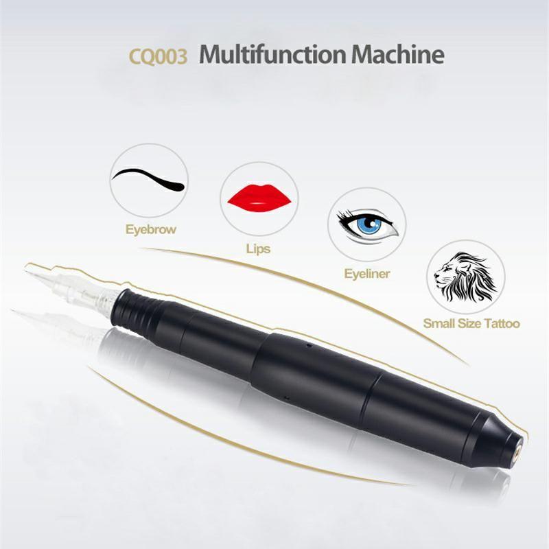 Stylo rotatif de Machine de tatouage de Machine de maquillage permanente de vidéo de HD avec l'aiguille pour des Kits de stylo de tatouage de pistolet de lèvre de sourcil de Microblading eu