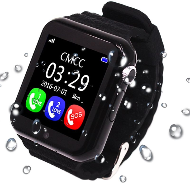 2017 GPS V7K Smart Watch Kids Waterproof with Camera facebook SOS Call Location DevicerTracker Anti-Lost Monitor PK Q90 Q50 DS18