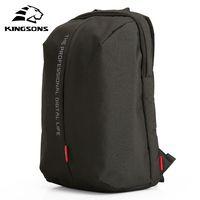 Kingsons mochila para portátil de 15,6 pulgadas de Nylon impermeable de alta calidad bolsas negocios Dayback de los hombres y las mujeres mochila