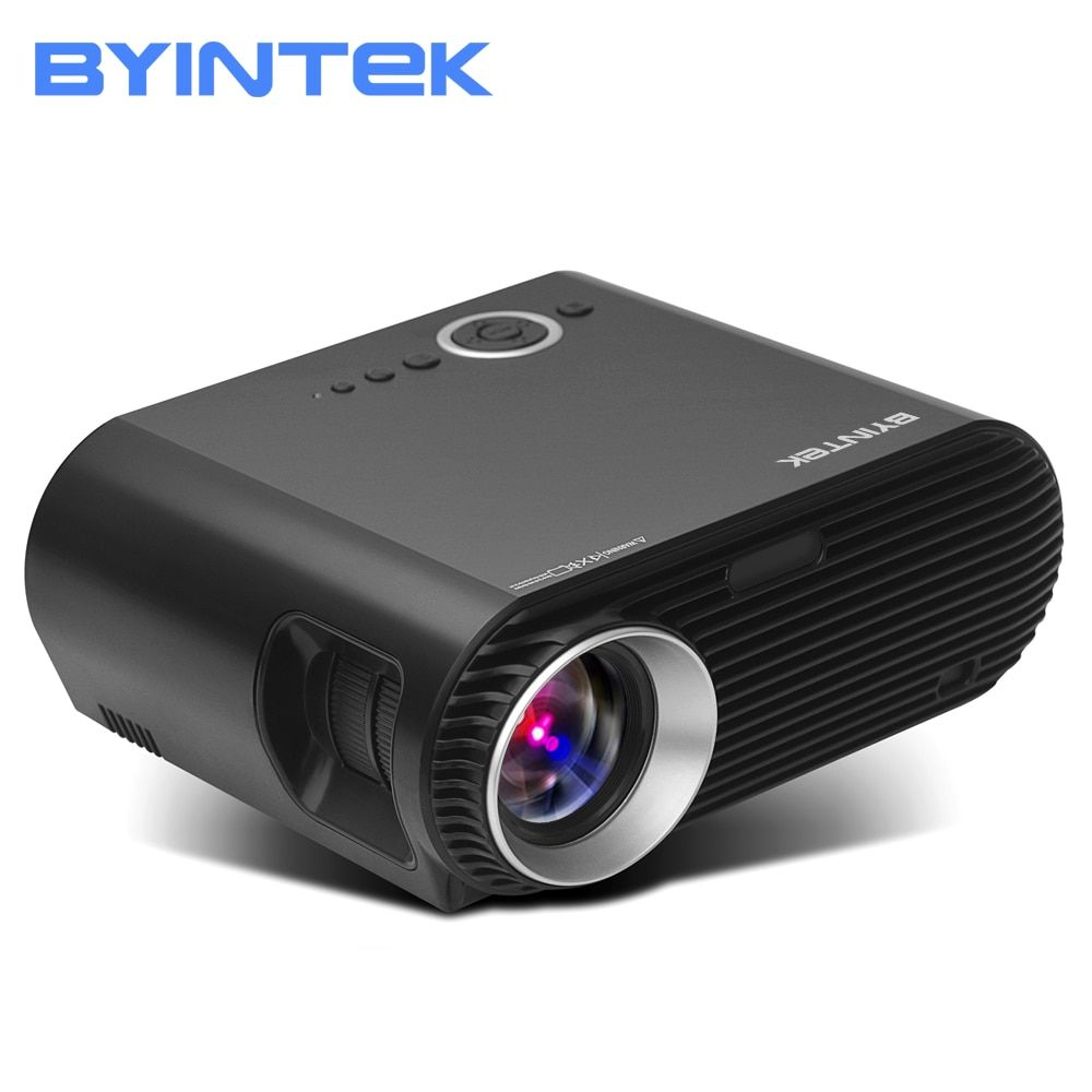 BYINTEK Brand BL127 1280x800 Movie Cinema Game USB HDMI fulL hD LCD LED Video Projector For 1080P Home Theater Party