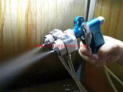 Chrome Silvering Semprot Penyemprotan Gun Dua Kepala Nozzle Ganda Pistol Semprot untuk Jewerly Stainless Steel Nozzle Jarum anti-korosi