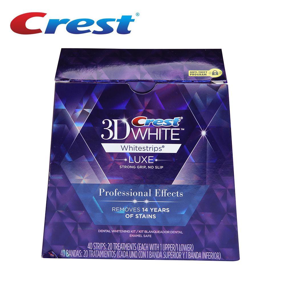 Brand Crest 3D White LUXE Professional Effects dental Whitestrips Original oral hygiene teeth whitening