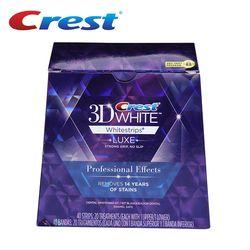 Marque Crête 3D Blanc LUXE Professionnel Effets dentaire Whitestrips D'origine orale de blanchiment hygiène des dents