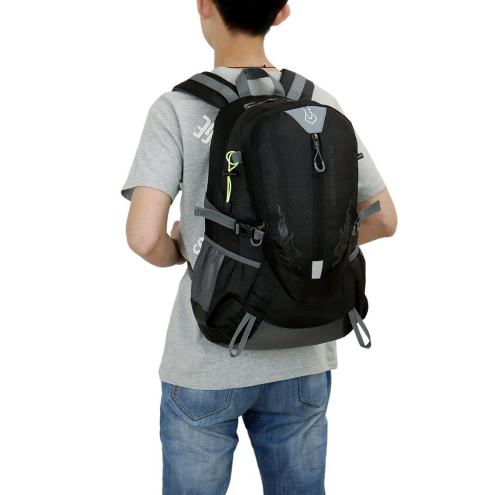 Nylon Waterproof Sports Bag Backpack for Men Travel Mountaineering <font><b>Hiking</b></font> Climbing Camping Backpacks Rucksack