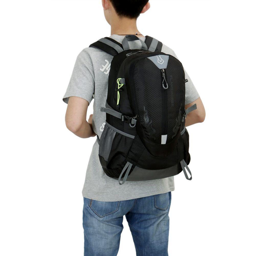 Nylon Waterproof Sports Bag <font><b>Backpack</b></font> for Men Travel Mountaineering Hiking Climbing Camping <font><b>Backpacks</b></font> Rucksack
