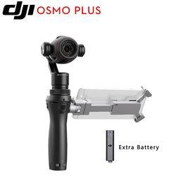 Original DJI Osmo + Plus 3 eje mano 4 K zoom Cámara Gimbal estabilizador profesional 4 K vídeo, 12 megapíxeles fotos