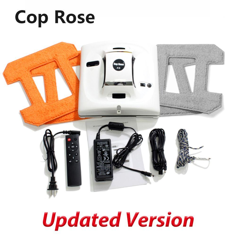 Cop Rose X6 Roboter für Windows Waschen Staubsauger Roboter Fenster Glas Wischer Reiniger Washer Roboter Windows Waschen Roboter