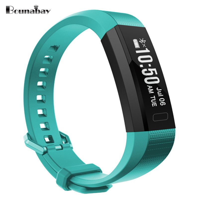 BOUNABAY Smart Bluetooth Bracelet watch for women touch screen watches Android ios phone ladies waterproof clocks lady clock