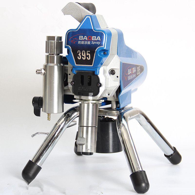 2018 Haute-pression Nouvelle airless machine de pulvérisation Professionnel Airless Pistolet Airless Pulvérisateur de Peinture 395 peinture machine outil