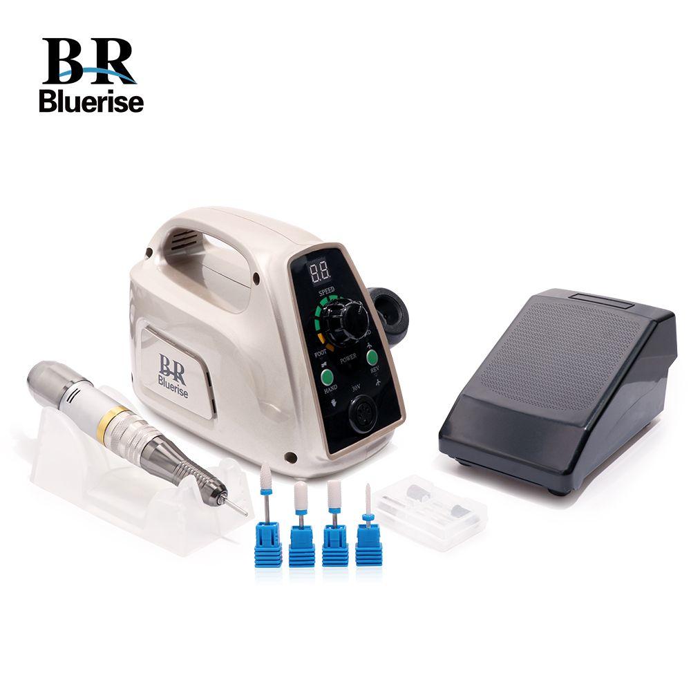 Manicure Tool Set Electric Nail Drill Machine Pedicure Professional Accessoires Milling Ceramic Cutter Nail Drill Bits File 014A