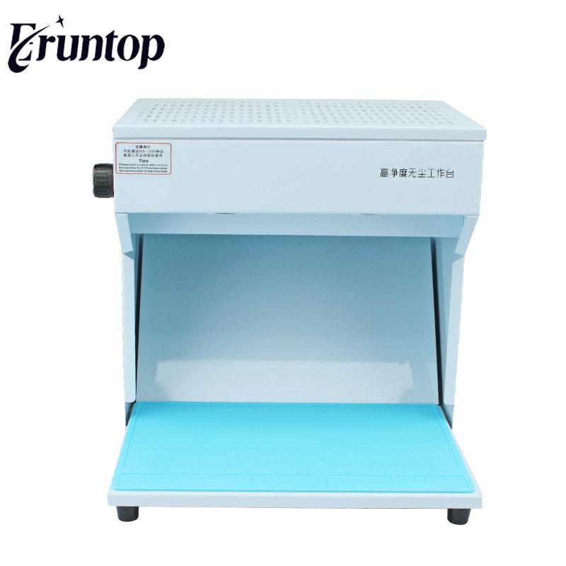 Eruntop Mini Dust-free Working Room Bench Table Refurbish LCD For Broken Phone Repair Refurbishing