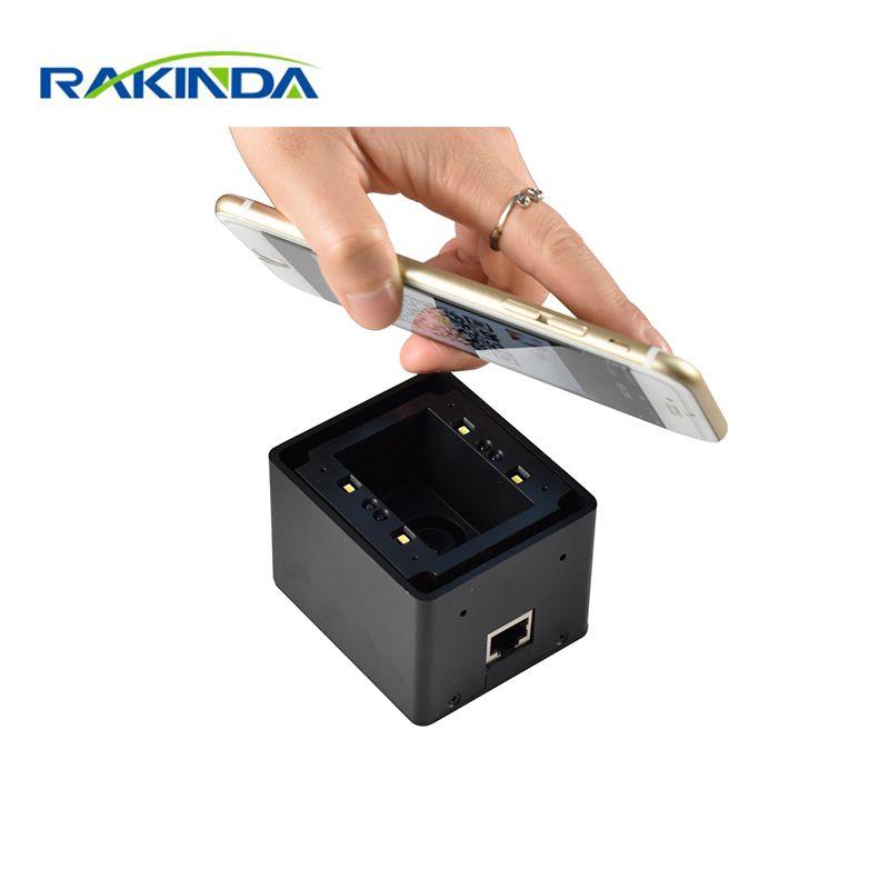 Scanner de bâti fixe de Code QR d'écran de téléphone portable 1D/2D rentable pour le casier, le contrôle d'accès, le kiosque
