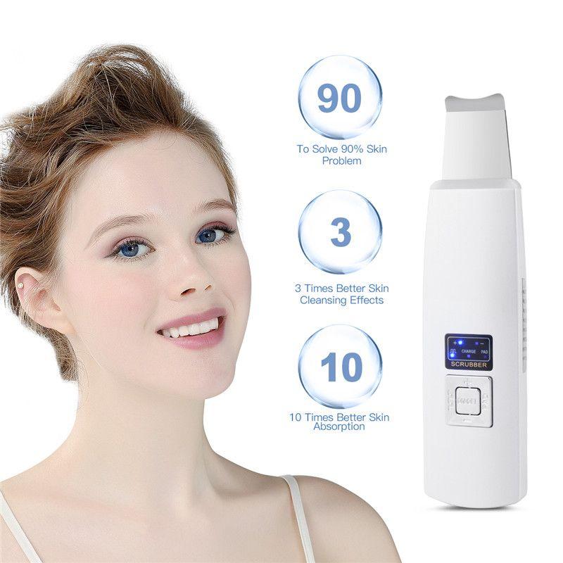 Machine de nettoyage de visage profond à ultrasons épurateur de peau exfoliant la saleté des pores outils d'élimination des points noirs Massager47
