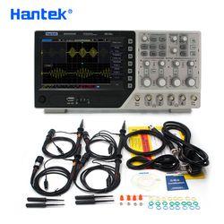 Hantek Officielles DSO4254C Oscilloscope Numérique 4 Canaux 250 Mhz LCD PC Portable USB Oscilloscopes + EXT + DVM + Auto gamme fonction