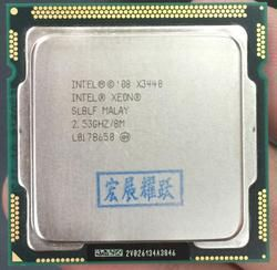 Четырехъядерный процессор Intel Xeon X3440 (8 Мб кэш-памяти, 2,53 ГГц) процессор LGA1156 cpu 100% работает правильно, настольный процессор