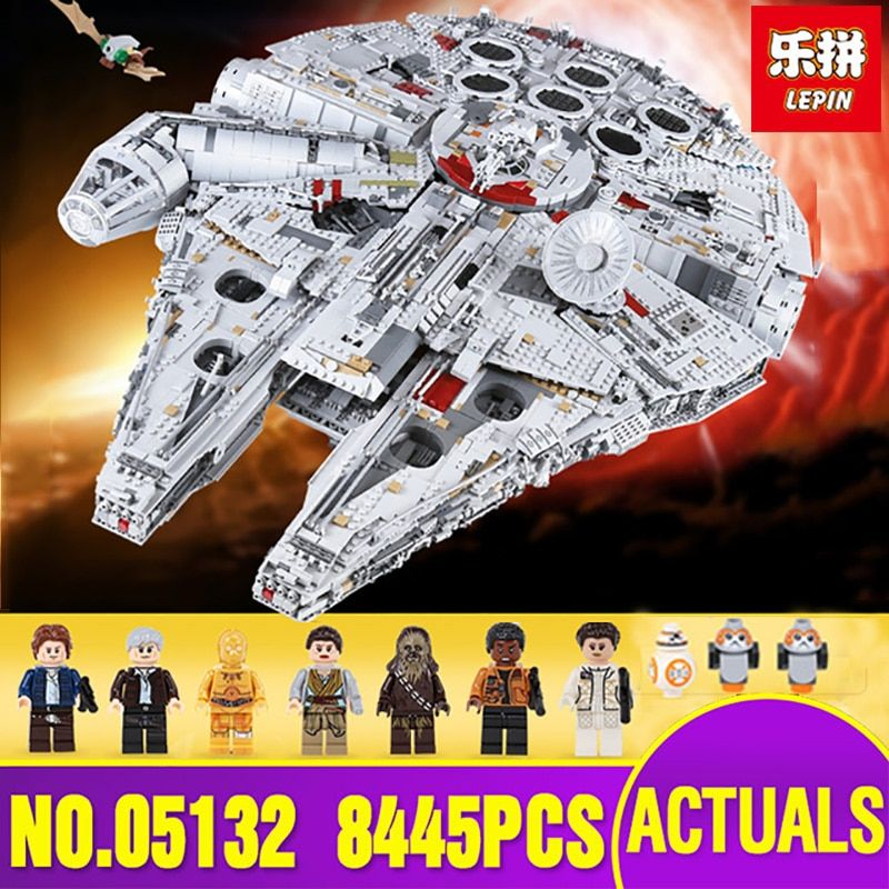 LEPIN 05132 Star Series Wars New Ultimate Collector's Model Destroyer Building Blocks Bricks Christmas Gifts legoing 75192 Toy