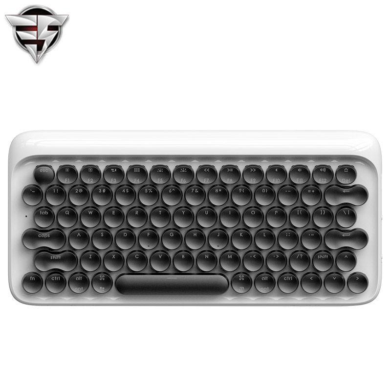 Lofree Dot Bluetooth Mécanique Clavier Sans Fil Rétro-Éclairé bouton Rond pour ipad/Iphone/Macbook/PC ordinateur/Android Tablet