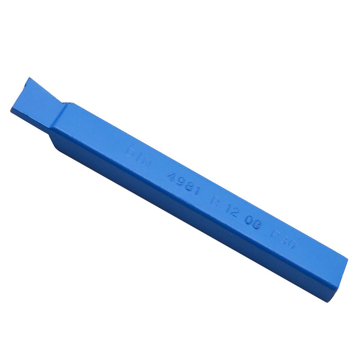 1 stück DIN 4981 Hartmetall-Hartmetalldrehmeißel Mayitr 10mm Blau Legierung Spirale Drehen Werkzeuge mit Tragen Widerstand