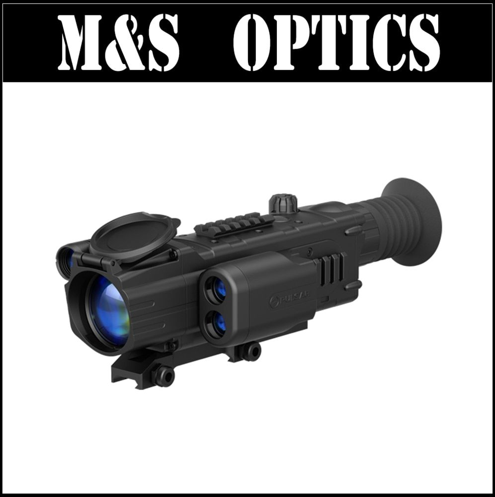Pulsar Digisight LRF N850 Night Vision Riflescopes with Built-In Rangefinder
