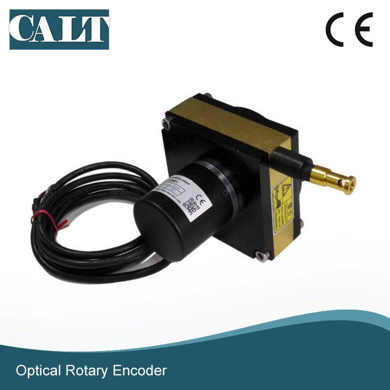 Precision 2000mm length distance measuring string potentiometer linear encoder displacement sensor analog output type