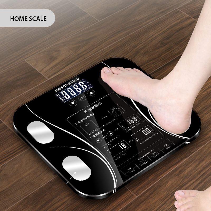 Chaud salle de bains corps graisse b mi échelle numérique poids humain mi échelles plancher lcd affichage corps Index électronique intelligent balances