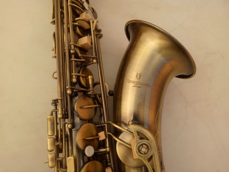 YANAGISAWA T-992 High Quality Tenor Saxophone Musical Instrument Brass Antique Copper Surface Bb Tone Sax With Case Mouthpiece