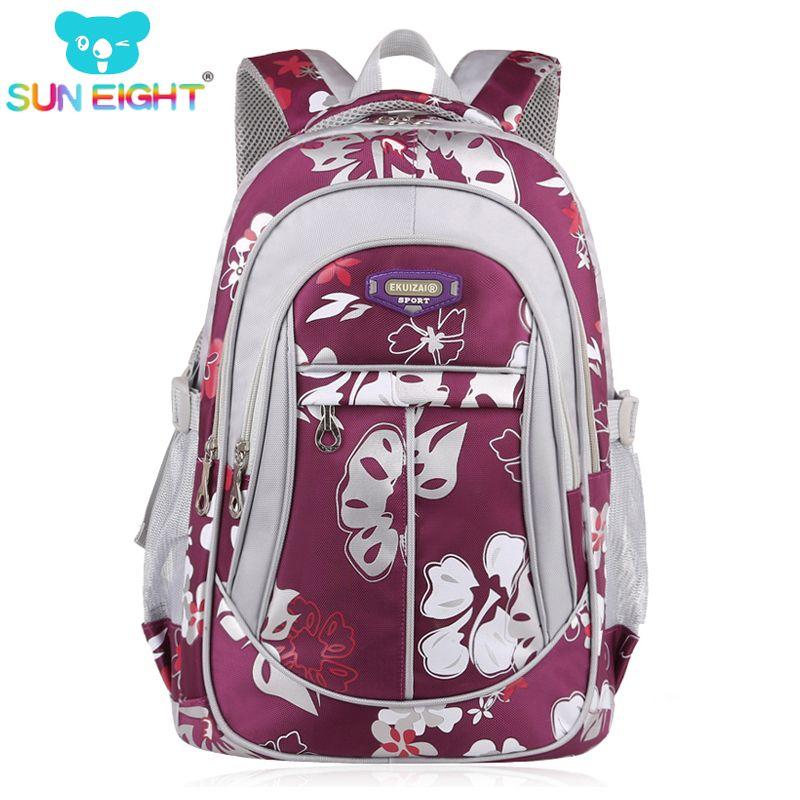 Fermeture éclair grande capacité sacs d'école pour les filles marque femmes sac à dos pas cher sac à bandoulière en gros enfants sacs à dos de mode