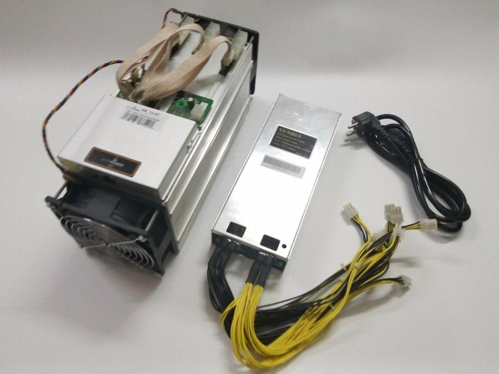 Verwendet AntMiner S9 13,5 t Mit Netzteil Bitcoin Miner Asic Miner BTC BCH Miner Von Bitmain Besser Als WhatsMiner m3