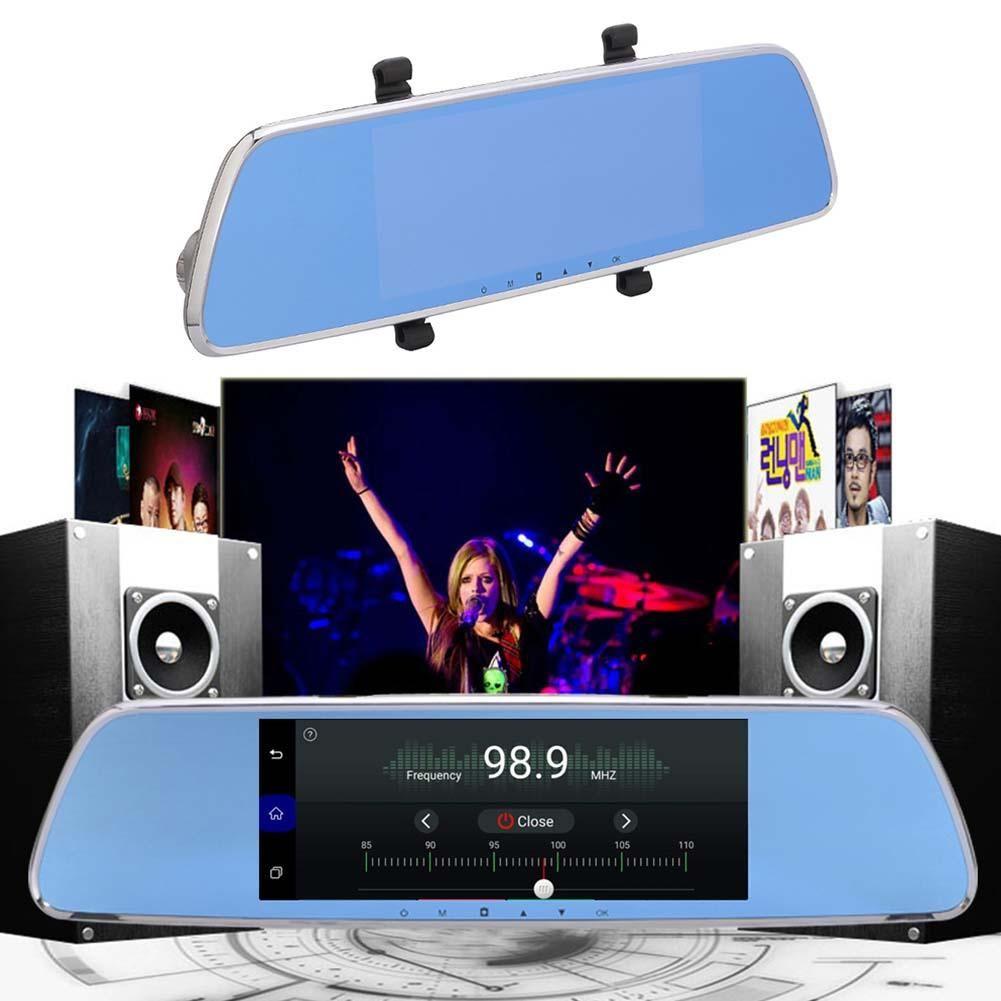 [Original] 7 zoll Touch Screen GPS Fahren Recorder Dual Kamera 3g Smart Rückspiegel HD Android Fernbedienung unterstützung Auto Wifi FM TF